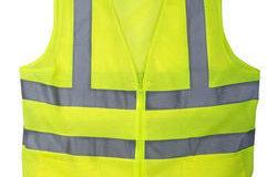 Reflexné vesty na stavenisko