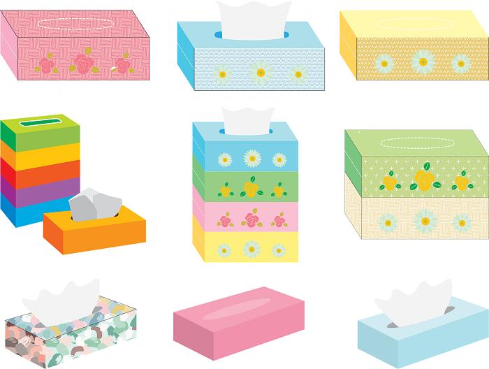 Krabičky na kuchynské utierky