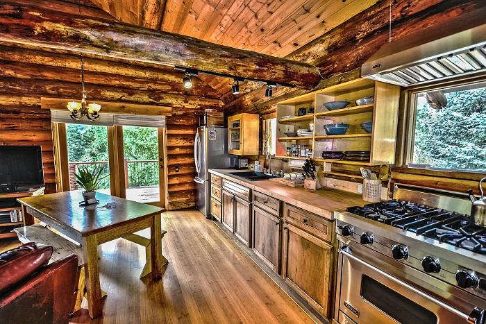 Vidiecke kuchyne pre gazdinky