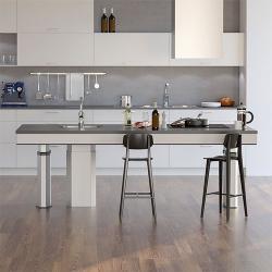 Kuchyne s ostrovčekom pre veľké miestnosti
