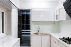 Malé kuchyně v jednopokojovém bytě