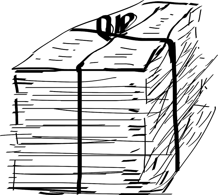 Starý papier zo školy